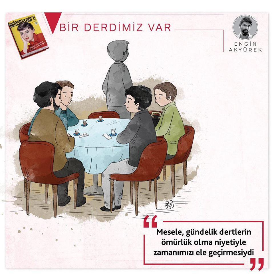 Nous avons un Problème. 25ème nouvelle histoire d'Engin Akyürek                   (Bir Derdimiz Var)