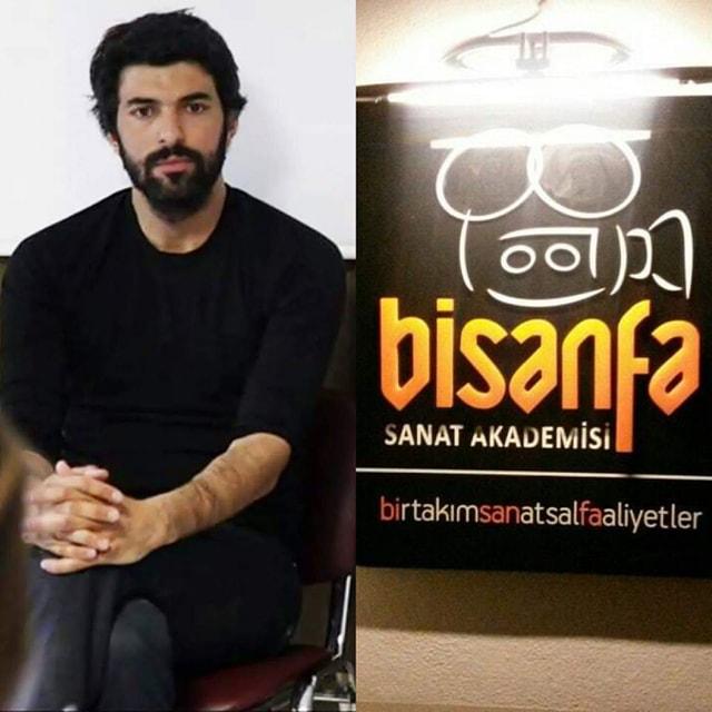 Engin Akyürek, professeur  à l'Académie des Arts «Bisanfa»