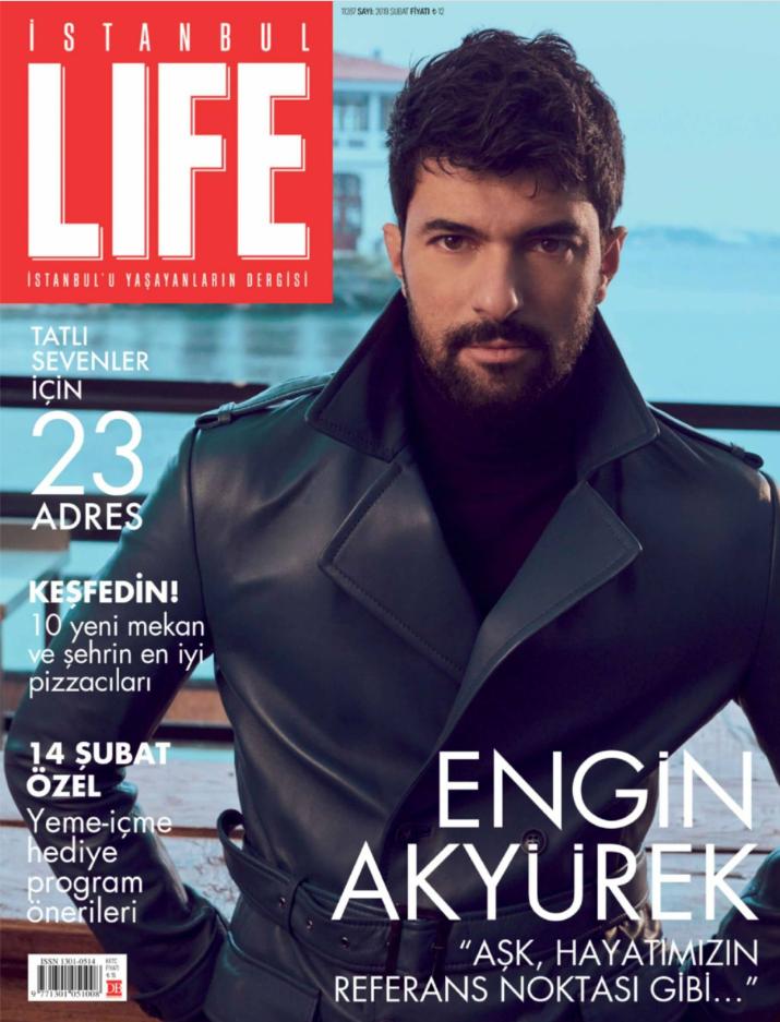 Entretien du magazine «Istanbul Life» avec Engin Akyürek