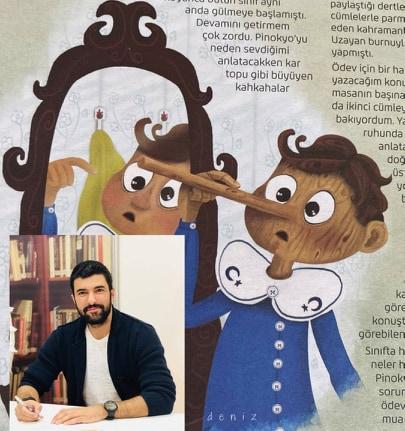 """""""Si j'étais Pinocchio"""" (Pinokyo Olsam) Auteur: Engin Akyürek"""
