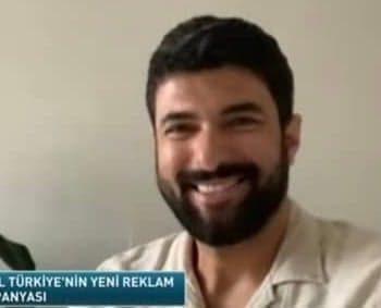 l'interview avec engin akyürek pour la campagne publicitaire de shell