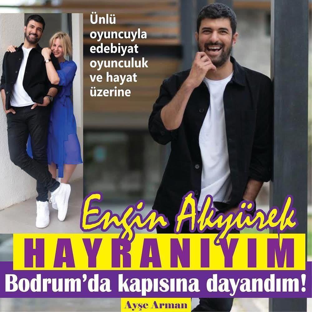 Avec Engin Akyürek, la littérature, le théâtre et la vie.