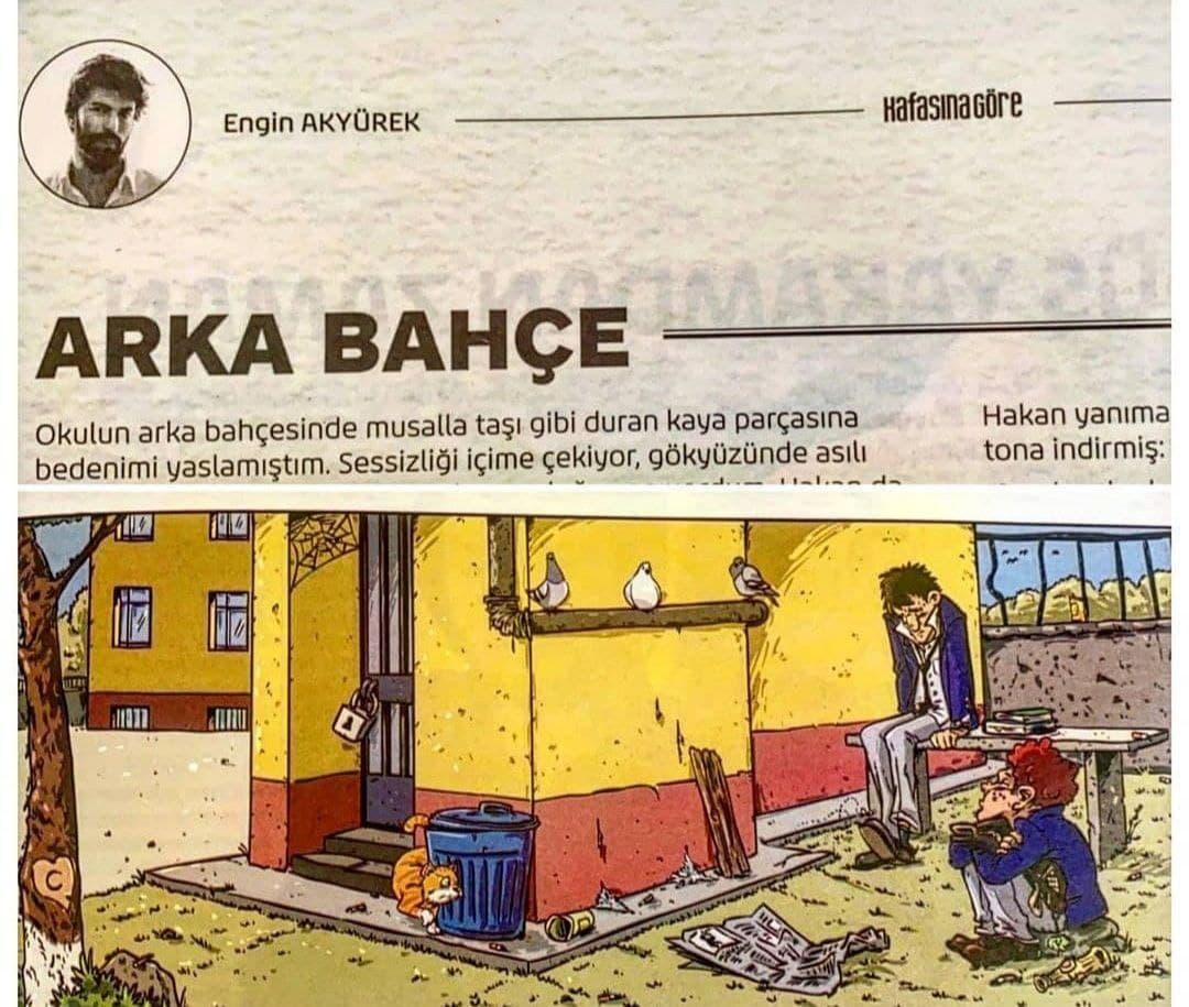 ARKA BAHÇE – The Backyard